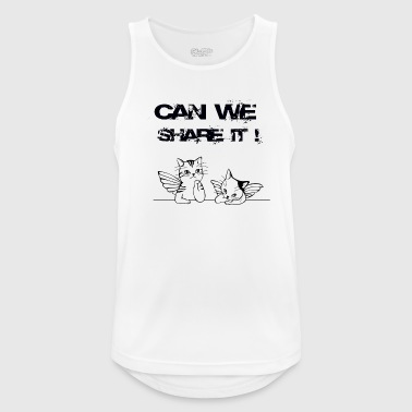 CAN WE SHARE IT - Men's Breathable Tank Top
