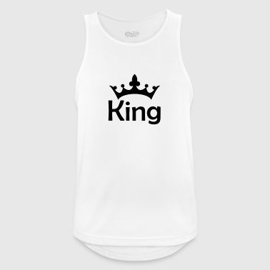 king - Men's Breathable Tank Top