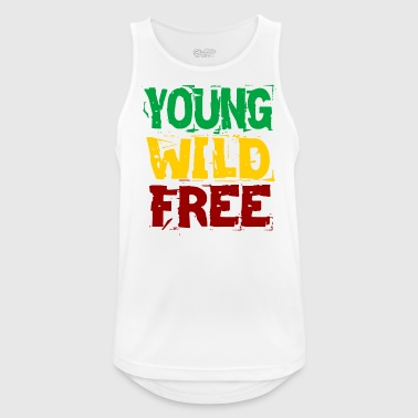 Young Wild Free - Men's Breathable Tank Top