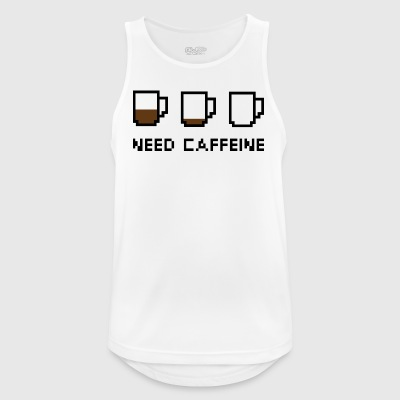 Need Caffeine - Men's Breathable Tank Top