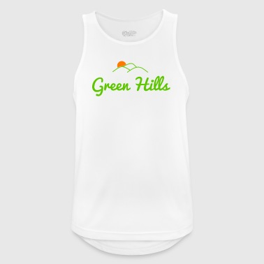 Green Hills - Men's Breathable Tank Top