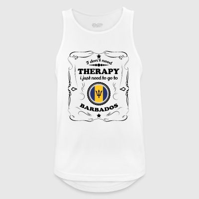 DON T NEED THERAPY GO BARBADOS - Men's Breathable Tank Top