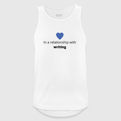 Gift single taken relationship with writing - Men's Breathable Tank Top