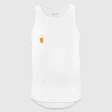 simple man like boobs bier beer titten Photographe - Männer Tank Top atmungsaktiv
