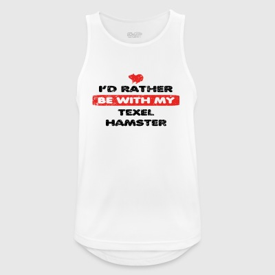 Guinea guinea pigs rather love TEXEL HAMSTER - Men's Breathable Tank Top