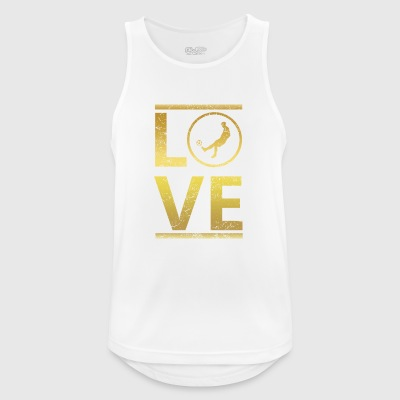 love calling profi king champion football soccer - Men's Breathable Tank Top