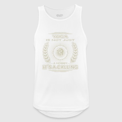 not a hobby calling job determination yoga meditation - Men's Breathable Tank Top