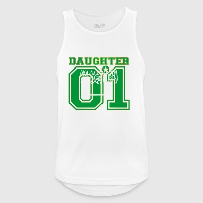 Daughter 01 daughter queen Saudi Arabia - Men's Breathable Tank Top