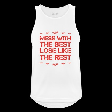 Mess with best loose king queen sportscar racer ra - Men's Breathable Tank Top