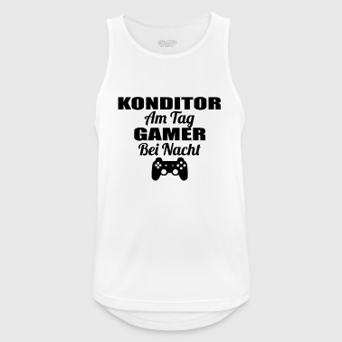 Gambling on the day gamer night lol KONDITOR png - Men's Breathable Tank Top