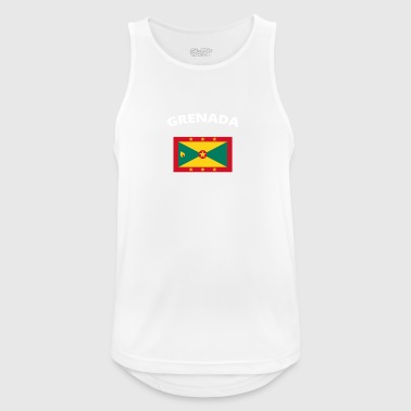 I love home homeland love roots GRENADA - Men's Breathable Tank Top
