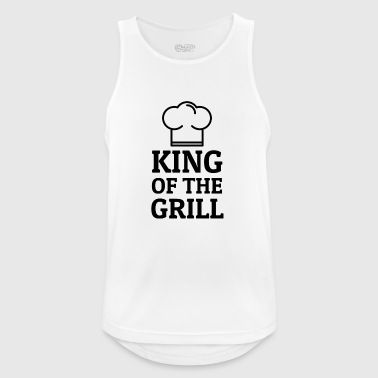 King of the Grill - Männer Tank Top atmungsaktiv