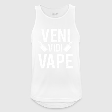 Veni - Vidi - Vape - For the e-cigarette steamer - Men's Breathable Tank Top