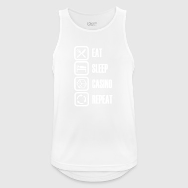 Eat Sleep Casino - Mannen tanktop ademend