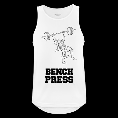 BENCH PRESS - Men's Breathable Tank Top