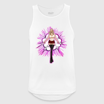Explosive Hot Blond Girl - Men's Breathable Tank Top