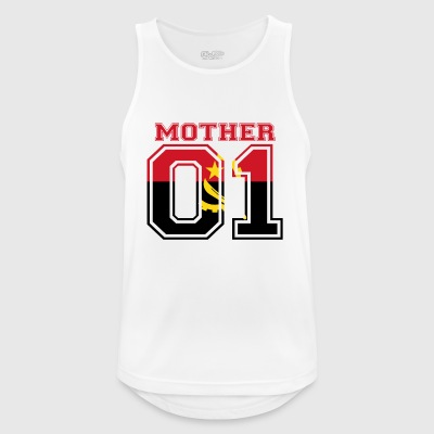 MUTTER MAMA 01 MOTHER QUEEN Angola - Männer Tank Top atmungsaktiv