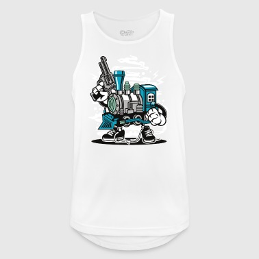 Train - Männer Tank Top atmungsaktiv