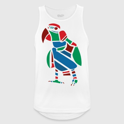 Parrot Vector graphic - Men's Breathable Tank Top
