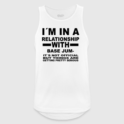 relationship with BASE JUMPING - Männer Tank Top atmungsaktiv