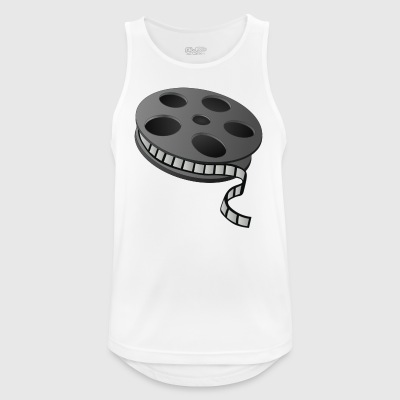 Cinema film reel - Men's Breathable Tank Top