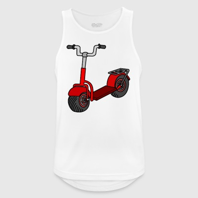 Kick scooter - Pustende singlet for menn