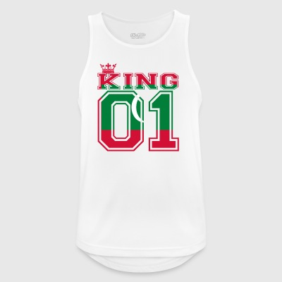 country partner king 01 prince Maldives - Men's Breathable Tank Top