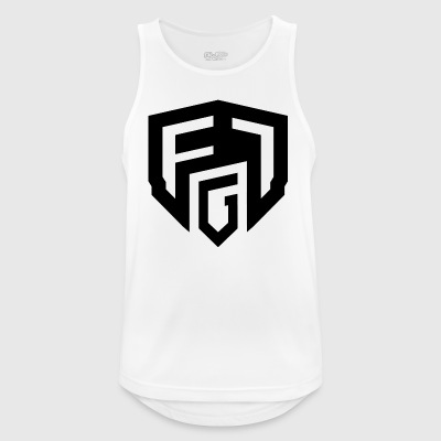 firmar F1G - Camiseta sin mangas hombre transpirable