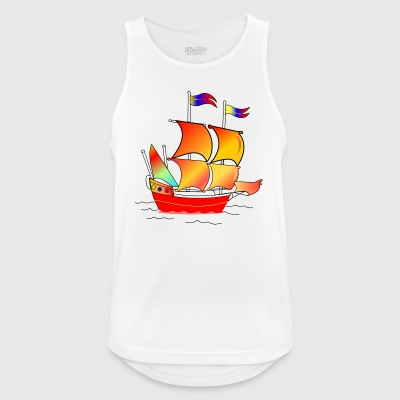 The red boat - Men's Breathable Tank Top