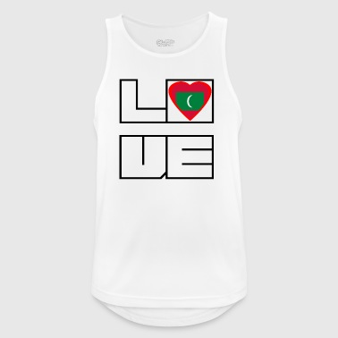 Love Land Roots Maldives - Men's Breathable Tank Top