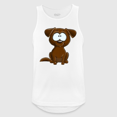 Chocolate Labrador - Men's Breathable Tank Top