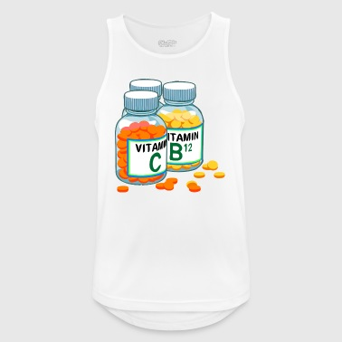 vitamins - Men's Breathable Tank Top