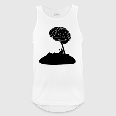 Brain, education, reading, hobby - Men's Breathable Tank Top