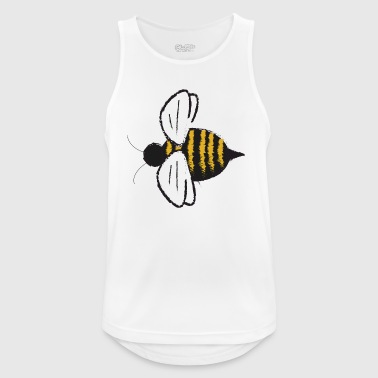 Bumblebee bee honey beekeeper fly insect gift - Men's Breathable Tank Top
