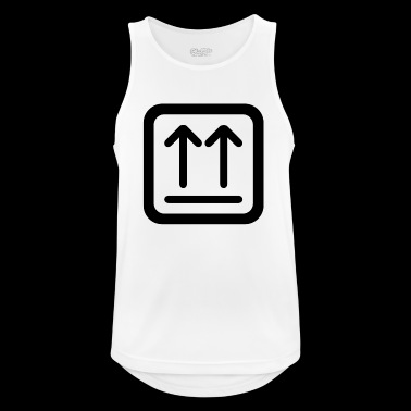 Here's up - Men's Breathable Tank Top