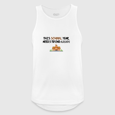 This schoolyear needs to end - Men's Breathable Tank Top