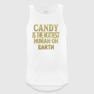 Candy - Men's Breathable Tank Top