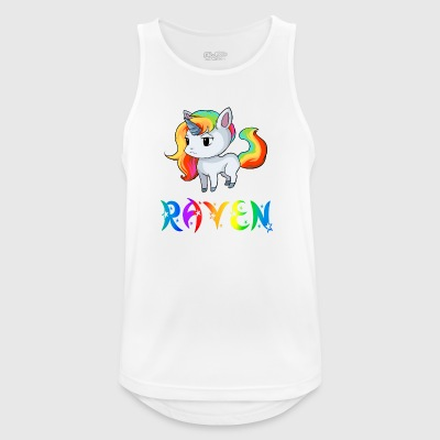 Unicorn Raven - Pustende singlet for menn