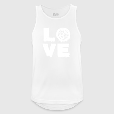 Love football gift - Men's Breathable Tank Top