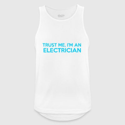 electrician - Men's Breathable Tank Top
