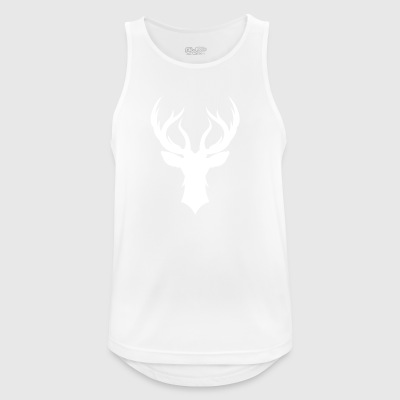 Deer - deer antler - Men's Breathable Tank Top