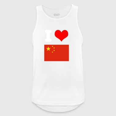 I love China Design as a gift idea for friends - Men's Breathable Tank Top