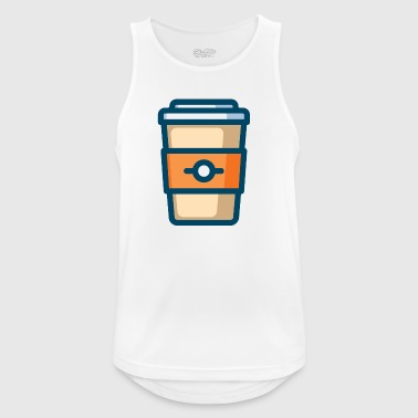 coffee - Men's Breathable Tank Top