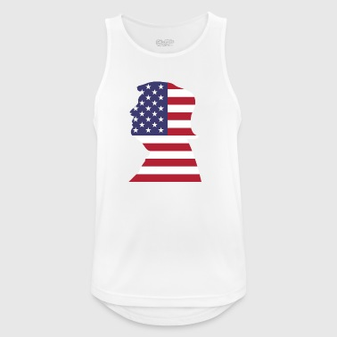 president usa - Men's Breathable Tank Top