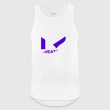 I Love Creatives - Logo By MrRobin12 - Men's Breathable Tank Top