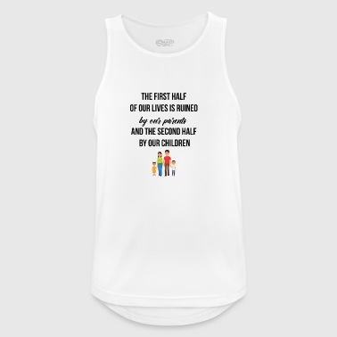 Lives ruined by our parents - Men's Breathable Tank Top