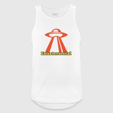 extraterrestre - Camiseta sin mangas hombre transpirable