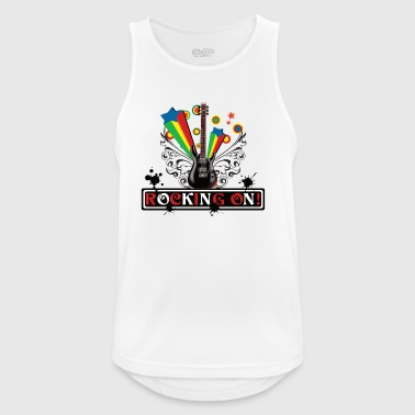 Rocking ON! design - Men's Breathable Tank Top