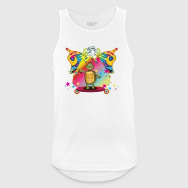 The disco turtle - Men's Breathable Tank Top