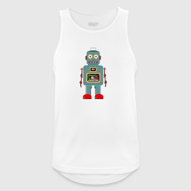 Vintage robot - Men's Breathable Tank Top